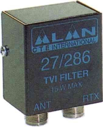 CTE 27/286 Low pass filter