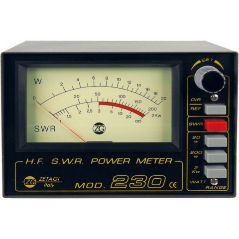 Zetagi 230 SWR Power meter